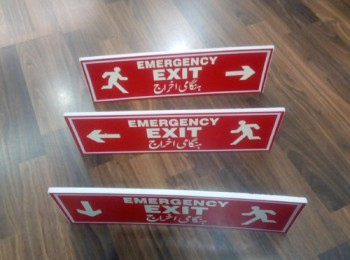 Safety Signs Installation